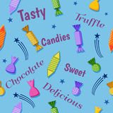 Candies celebration design Royalty Free Stock Images