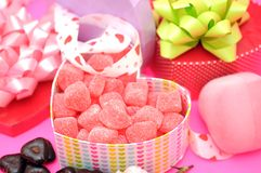 Candies and chocolate Royalty Free Stock Photos