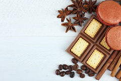 Candies and chocolates Stock Images