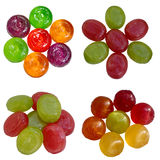 Candies colourful. Calorie candy certificate color coloured colourful composition cu culinary dessert royalty free stock photos
