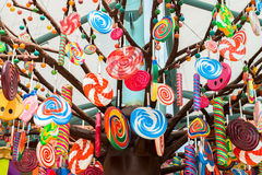 Candies design decoration Royalty Free Stock Images