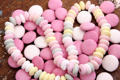 Candies. Different types of colorful candies Stock Photography