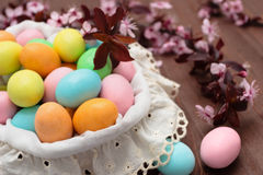 Candies for Easter day. Royalty Free Stock Photo