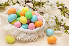 Candies for Easter day. Royalty Free Stock Photos