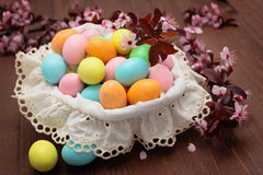 Candies for Easter day. Stock Images