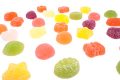 The candies field Royalty Free Stock Images