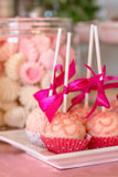 Candies. Food catering. Close up, selective focus. Royalty Free Stock Photo