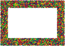 Candies Frame Stock Image
