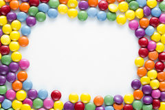 Candies Frame Stock Images