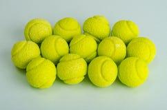 Candies gum balls in shape of tennis balls. Studio Photo stock photography