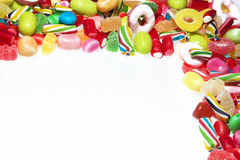 Candies isolated in white background Stock Photo