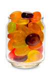 Candies in a jar Royalty Free Stock Photography