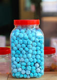 Candies jar Royalty Free Stock Images