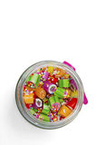 Candies in jar Royalty Free Stock Image