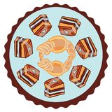Candies line icons set ,  illustration, sweetest day. PRINT Stock Photos