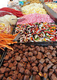 Candies in market Stock Photography