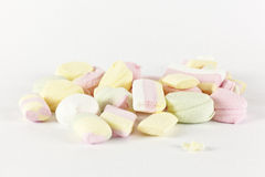 Candies marshmallows Stock Photos