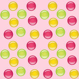 Candies seamless background Stock Photography