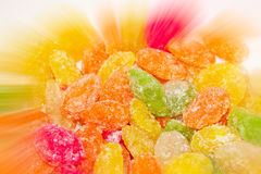 Candies in sugar. Royalty Free Stock Photography
