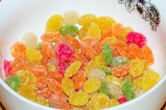 Candies in sugar. Stock Photos