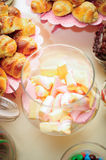 Candies, sweet foam Royalty Free Stock Photography