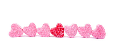 Free Candies Sweet Hearts Confectionery Stock Photos - 10870803