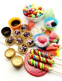 Candies and sweets Royalty Free Stock Photos