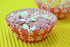 Candies to decorate cakes Royalty Free Stock Images