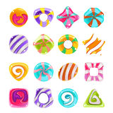 Candies vector set Stock Images