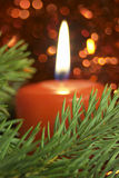 Candle. Christmas Candle stock images