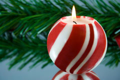 Candle. stock images