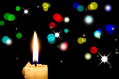 The Candle. Royalty Free Stock Photo