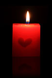 Candle. Use in some party Royalty Free Stock Image
