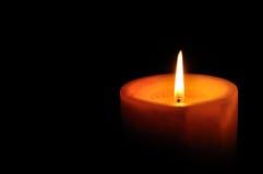 Burning candle Royalty Free Stock Images