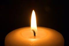 Candle. Macro Stock Photo