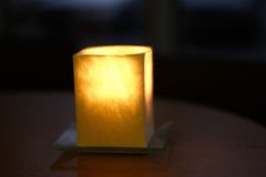Candle. Interier elements Royalty Free Stock Photography