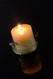 Candle. Background possible to use for printing and project Stock Image