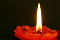 Candle. Background possible to use for printing and project Stock Photography