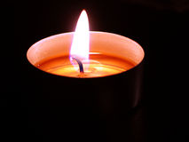 Candle. Stock Photography