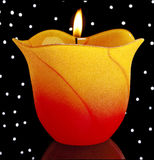 Candle. Royalty Free Stock Photos