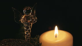 Candle stock video
