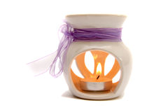 Candle for aromatherapy Royalty Free Stock Image