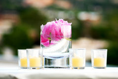Candle Arrangement Royalty Free Stock Images