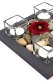 Candle arrangement Stock Photos
