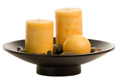 Candle Arrangement Royalty Free Stock Photo