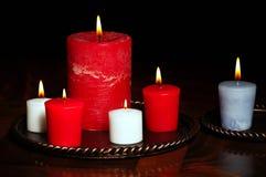 Candle arrangement Stock Photo