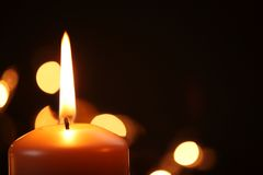 Candle background Royalty Free Stock Photography