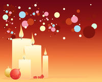Candle background Royalty Free Stock Photos