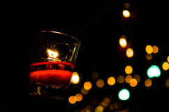 Candle backgrounds in the Light. Is beautiful Stock Photo