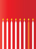 Candle-Birthday Royalty Free Stock Photo